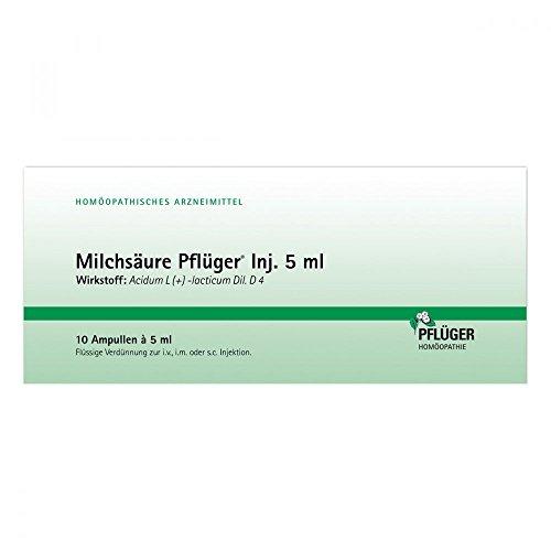 Milchsäure Pflüger Injektionslösung 5 ml, 10 St
