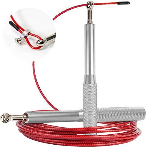 Medical Device Technology Corda Per Saltare Professionale Crossfit e Allenamento ad alta velocità, progettata per il Double Under, ideale per Pugili professionisti.