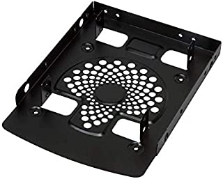 """LogiLink Einbaurahmen für Zwei 2,5"""" HDD, Aluminium"""