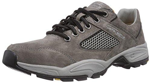 camel active Evolution 11, Herren Oxford Sneakers, Grau (dk.grey), 45 EU (10.5 Herren UK)