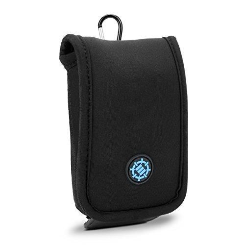 ENHANCE Schutzhülle für Computer-Maus, Reise-Etui für Gaming-Mouse, Tasche aus robustem Neopren für den sicheren Transport oder Aufbewahrung Ihrer PC-Maus, sowie einem Netzfach für Zubehör