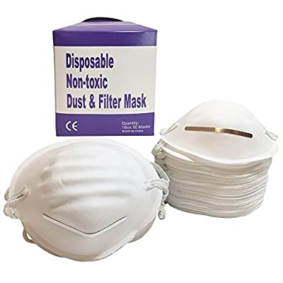 Dust Mask - All Purpose Filter Allergy Mask and Construction Mask for Indoor Outdoor Use