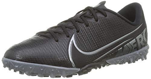 Nike Unisex Vapor 13 Academy Tf Fußballschuhe, Schwarz (Black/MTLC COOL Grey-COOL Grey 001), 38.5 EU