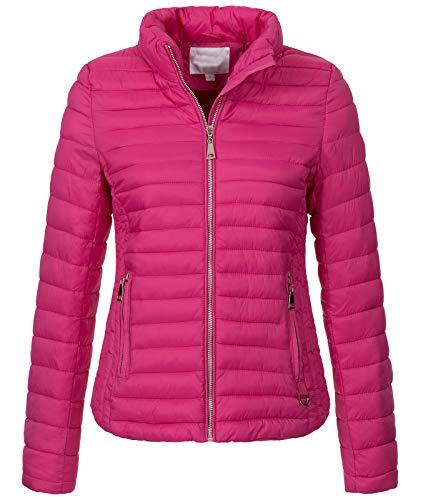 Rock Creek Damen Steppjacke Übergangsjacke Leicht Outdoorjacke Damenjacke Frauen Jacken Gesteppte Jacken Herbstjacke Jacke Weste D-427 Pink S