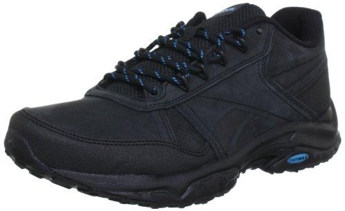 Reebok SPORTERRA CLASSIC IV J93880, Damen Walkingschuhe, Schwarz (BLACK/BUZZ BLUE), EU 38.5 (US 8)