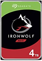 Seagate IronWolf 4TB NAS Internal Hard Drive HDD – CMR 3.5 Inch SATA 6Gb/s 5900 RPM 64MB Cache for RAID Network Attached...