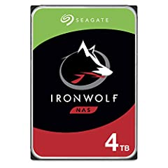 IronWolf internal hard drives are the ideal solution for up to 8 bay, multi user NAS environments craving powerhouse performance Store more and work faster with a NAS optimized hard drive providing 4TB and cache of up to 64MB Purpose built for NAS en...