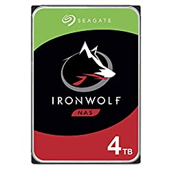 top 10 seagate hard drive Seagate IronWolf 4 TB NAS Built-in Hard Drive – CMR 3.5 inch SATA 6 Gigabit / sec 5900rpm 64MB Cache…