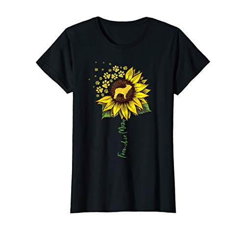 Frenchie Mom Sunflower French Bulldog Lover Gifts Dog Mama T-Shirt