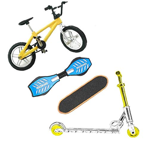 Bicicletas dedo Deportes Juguetes Set Mini Scooter Patinetas Columpio Juego de mesa del cerebro por un partido de Navidad de los niños, accesorios de fitness Shaping, accesorios deportivos