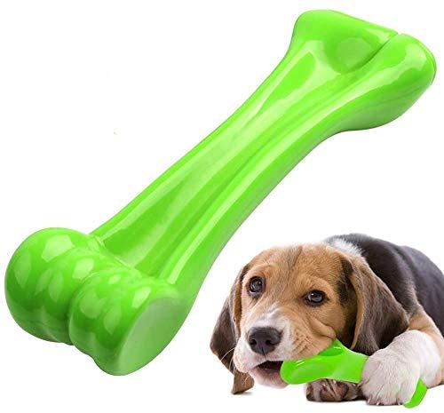 Hundespielzeug für Aggressive Kauer,Spielzeug Hund langlebige Hunde Kauen Knochen mit Rindfleischgeschmack Tough dauerhafte Gummi Welpen Kauspielzeug Zahnpflege für Große Mittel Hunde (20-80lb)