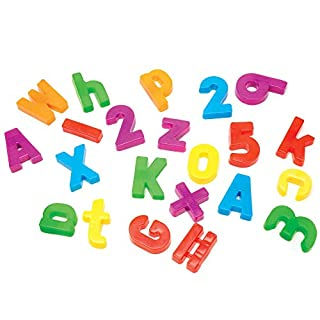 Learning Resources Magnetic Alphabet & Numbers (Does not come with a magnetic board) (B000F8R2DK) | Amazon price tracker / tracking, Amazon price history charts, Amazon price watches, Amazon price drop alerts