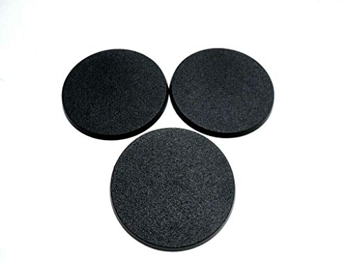 Lot of 3 80mm Round Bases for Warhammer 40k & AoS GW Leviathan & Kavalos