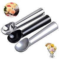 Cucchiaio Gelato Porzionatori da gelato/Cucchiaio Gelato Alluminio /Professionale in alluminio antiaderente cucchiaio di gelato spade/3 pezzi