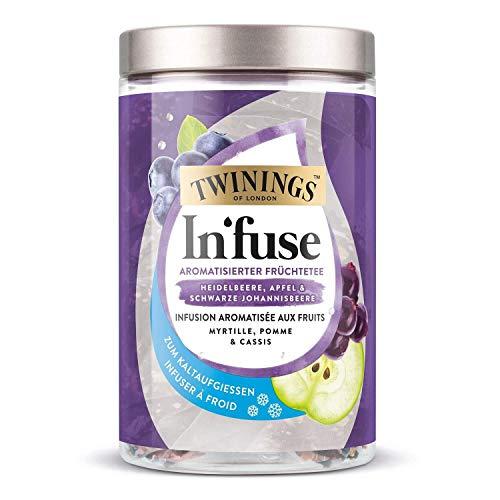 Twinings Infuse arandano, manzana y grosella 12 x 2,5g bolsa para infusion fria