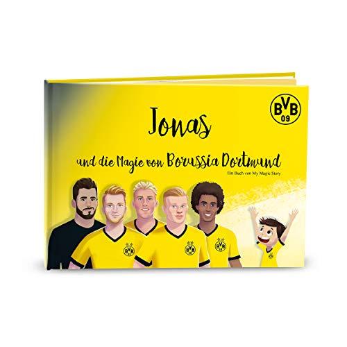 MY MAGIC STORY deutsches Kinderbuch personalisiert - Die Magie von Borussia Dortmund 0-10 Jahre