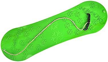 Snowboard voor 77 cm kinderslee met touwgreep, kunststof