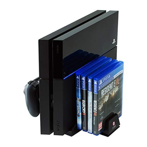 PS4 Estación de carga del controlador todo en uno