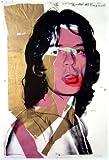 Germanposters Andy Warhol Mick Jagger Poster Kunstdruck