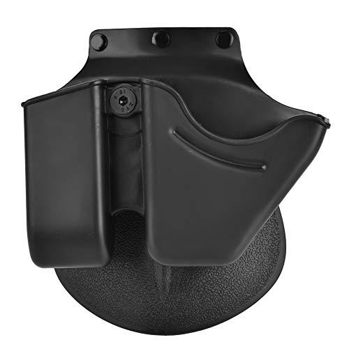 Nikou Magazine Holster - 9mm Schnellverschluss-Handschellenhalter Holster, Zubehör für Magazintasche, für 6909