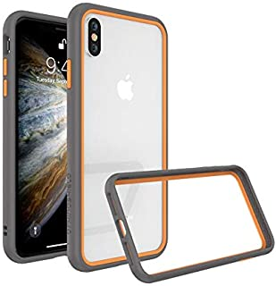 RhinoShield CrashGuard NX for iPhone XS Max grey with orange