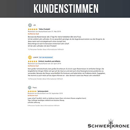 Schwertkrone Rasiermesser - 6