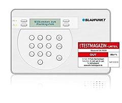 Blaupunkt SA 2900R Smart GSM Trådlöst larmsystem, trådlöst säkerhetssystem set med rörelsedetektor, dörr/fönstersensor, fjärrkontroll & app, För hem, lägenhet, kontor, företag