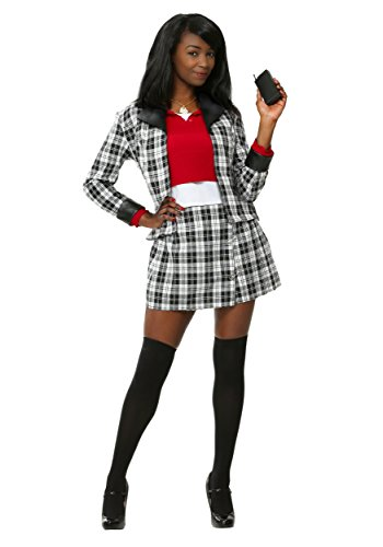 Clueless DEE Womens Fancy Dress Costume Medium