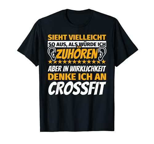 CrossFit Regalos Deportivos Divertidos frase Camiseta