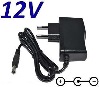 Cargador Corriente 12V Reemplazo Pedal Procesador Vocal TC Helicon Voicetone C1 D1 & H1 Recambio Replacement