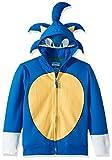 SEGA Kids' Little Sonic The Hedgehog Costume Hoodie, Royal, 5/6