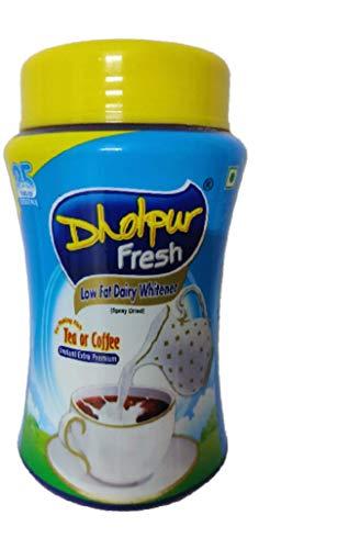 Dholpur Fresh Low Fat Dairy Whitener, 500 g Jar
