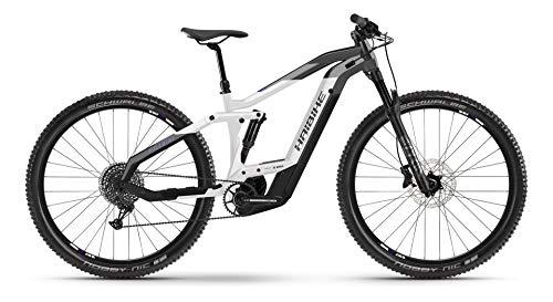 Haibike FullNine 8 Bosch - Bicicletta elettrica 2021 (XL/50 cm, antracite/bianco/nero)