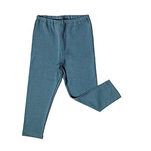 Leela Cotton - Legging - Bébé (Fille) 0 à 24 Mois - Bleu - 9 Mois