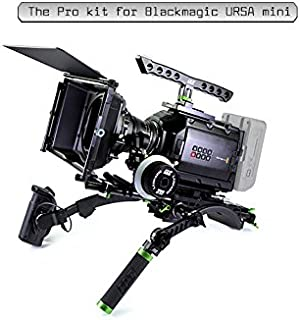Lanparte URSK-03 Professional, Versatile URSA Mini Shoulder kit, Black, Green