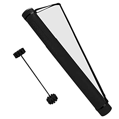 XTACER Archery Arrow Tube Case Carrier PE Quiver with Adjustable Strap with Foam Arrow Insert