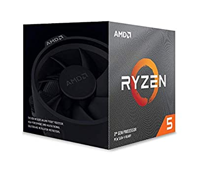 AMD Ryzen™ 5 3600XT Processor (6C/12T, 35MB Cache, Up to 4.5 GHz Max Boost) – With Wraith Spire Cooler