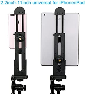 Ulanzi iPad Tablet Tripod Mount Adapter Flexible Adjustable Clamp Tablet Holder for iPad Air Pro,Microsoft Surface and Mos...