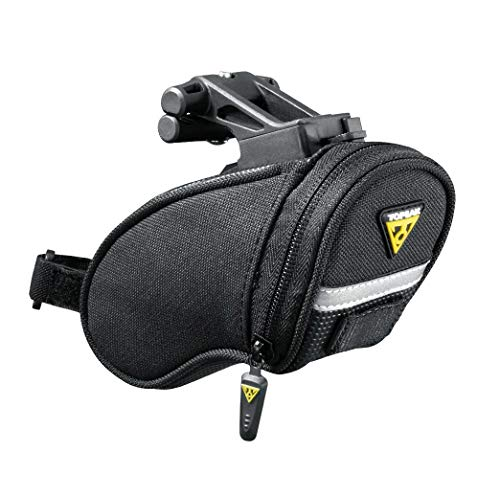 Topeak Aero Wedge Pack (QuickClick) - Bolsa para sillín de bicicletas( 15 x 7 ), talla Micro