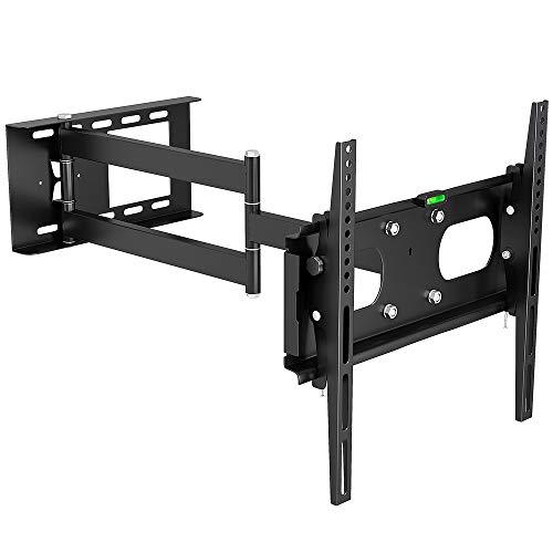 Fair Style - Supporto da parete orientabile e regolabile per TV fino a 63', 160 cm
