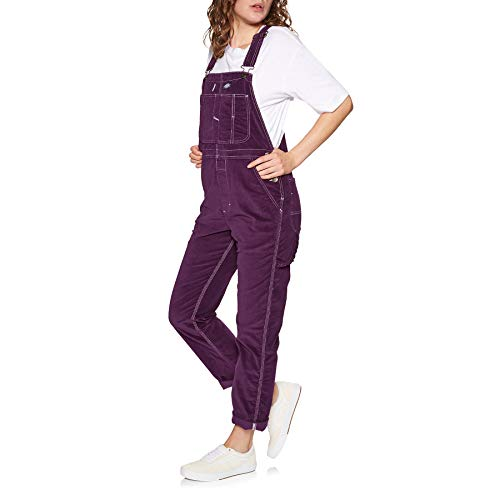 Dickies Damen Marydell Overalls, Aubergine. X-Small