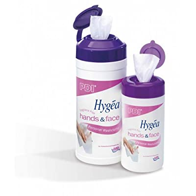 Hygea Hands & Face Body Wipes (200) by