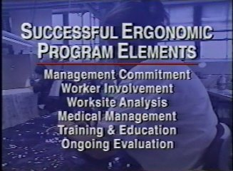 Ergonomic Programs That Work: Successful Business Implementation Profiles