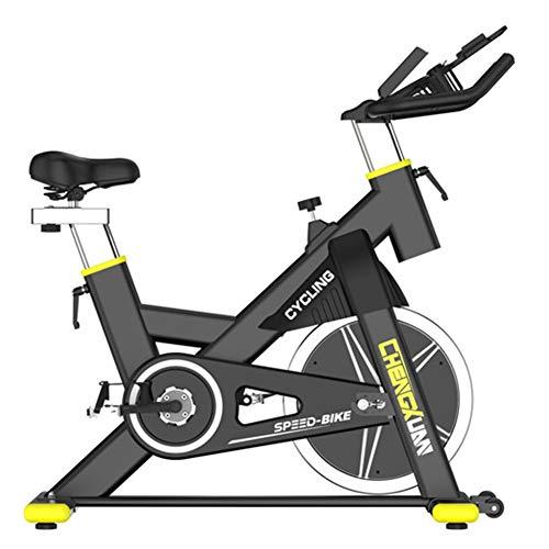 REGEN Bicicleta De Spinning, Bicicleta De Spinning Indoor Con Volante De Inercia Controlado Magnéticamente, Sin Resistencia Y Altura, Soporte Para Los Codos, Ejercicio Aeróbico En Casa, Carg