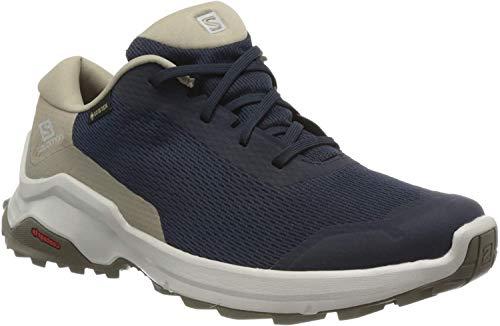 Salomon Herren X REVEAL GTX Trekking- & Wanderhalbschuhe, Farbe: blau (navy Blazer/Vintage Kaki/Bungee Cord) Größe: EU 43 1/3