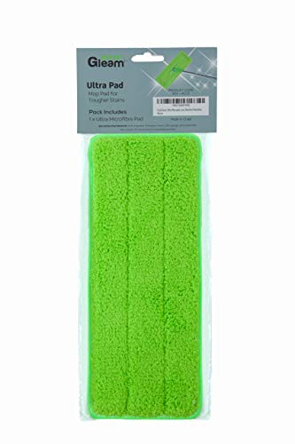EasyGleam Mikrofaser-Mopp-Pad für hartnäckigen Schmutz, Flecken und Tiefenreinigung, Verwendung mit EasyGleam Mop und Eimer, für alle Bodenarten und maschinenwaschbar.