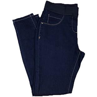 Ex Stock - Major Store EX Stores Jeggins Elasicated Waist Stretch Denim Skinny Jeans Trousers UK 8-22 (UK 16 Short Leg)