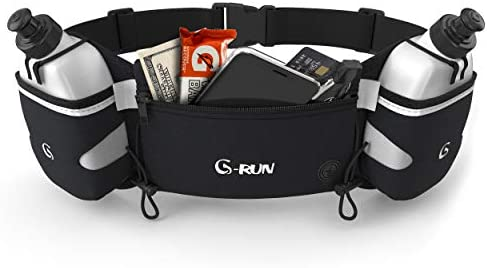 G Run Hydration Running Belt with Bottles Water Belts for Woman and Men iPhone Belt for Any product image