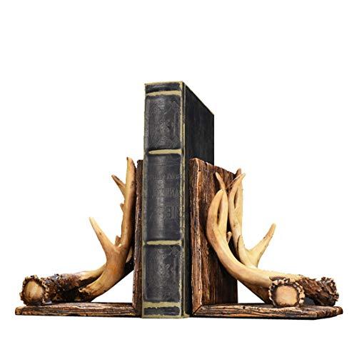 Start 40 Glückliches Geweih buchen kreative nordische amerikanische Bürodekoration Arbeitszimmer Dekoration Bücherregal Anzeige Persönlichkeit Bücherregal