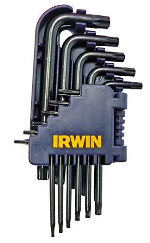Irwin IW10758, Jogo de Chave Hexagonal L Longa com Ponta Torx com 11 Peças, Preto